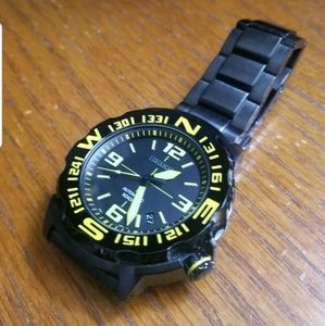 SEIKO 5 AUTO SPORTS BLACK ION COATED